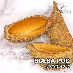 Bolsa Pod x3 Unidades Hojas y botánicos para acuario
