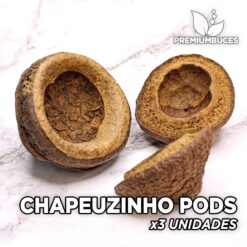 Chapeuzinho Pods x3 Unidades Hojas y botánicos para acuario