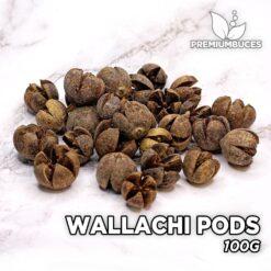 Wallachi Pods 100g Hojas y botánicos para acuario
