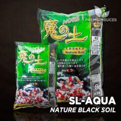 SL-AQUA Nature Black Soil Sustrato para gambas Caridina
